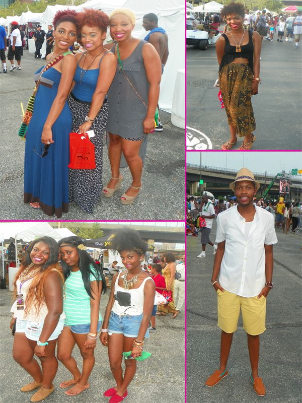 African American Festival Baltimore Street Style