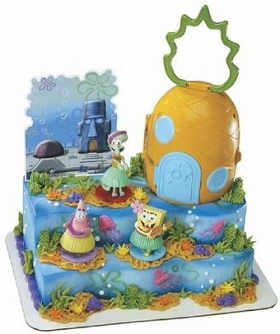 Spongebob Birthday Cakes Kroger Wedding Cake Pinterest