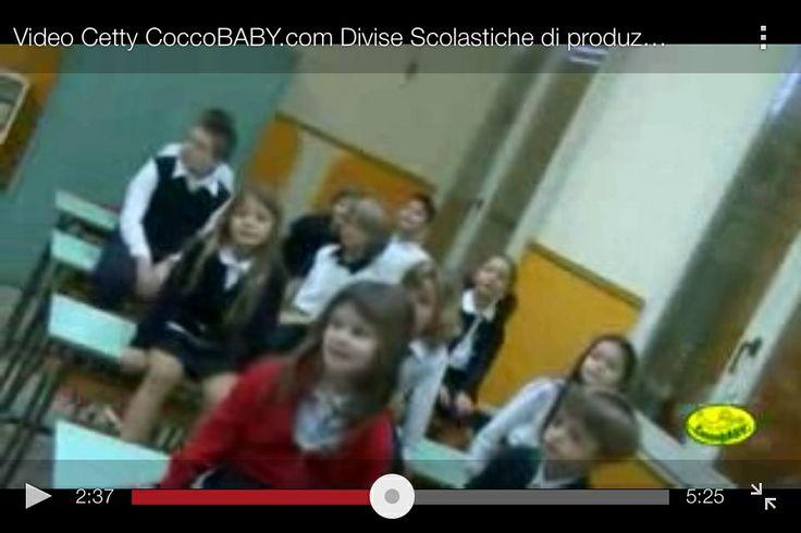 Video Backstage Cetty CoccoBABY.com Divise Scolastiche di produzione italiana, lo vedi qui: http://youtu.be/lTn733-4wv4