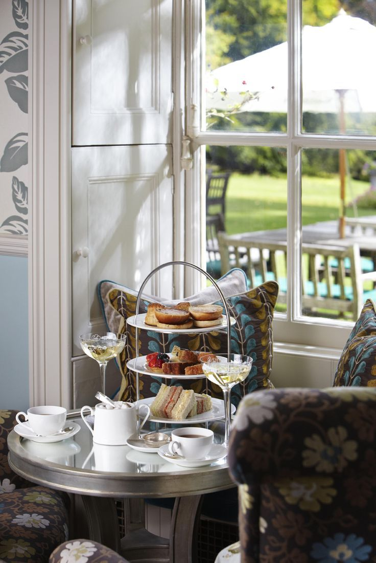 Afternoon tea at lainston house winchester afternoon tea