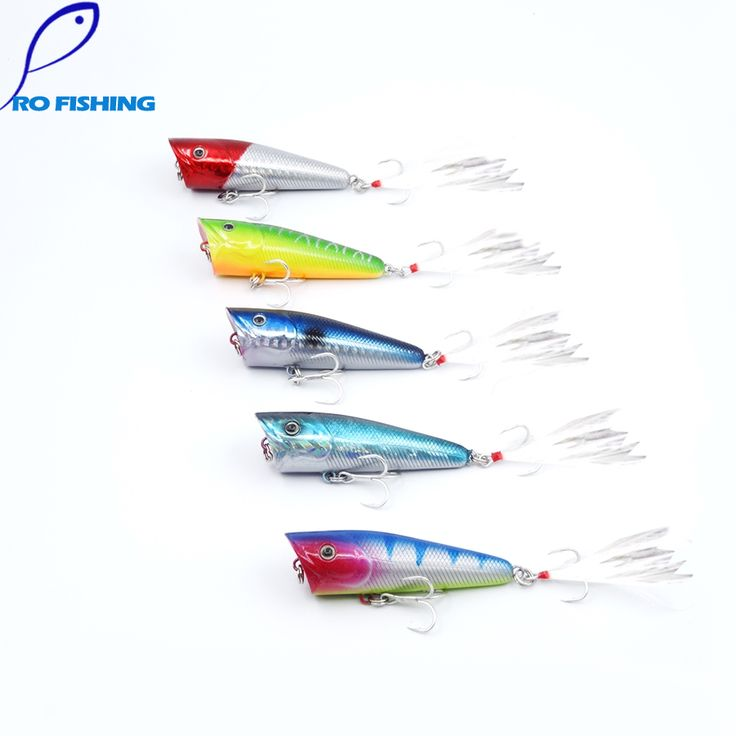 5pcs Pesca Artificial Bait 7cm 13g Popper Top Water Floating For Japan Pike Bass Fly fishing Carp Fishing Trout Fishing Lure