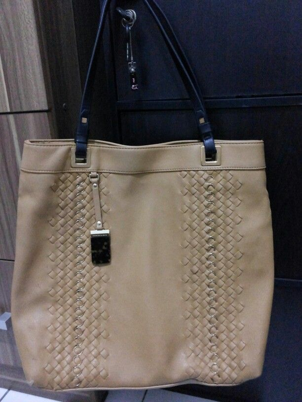 Brown Totebag from Charles and Keith