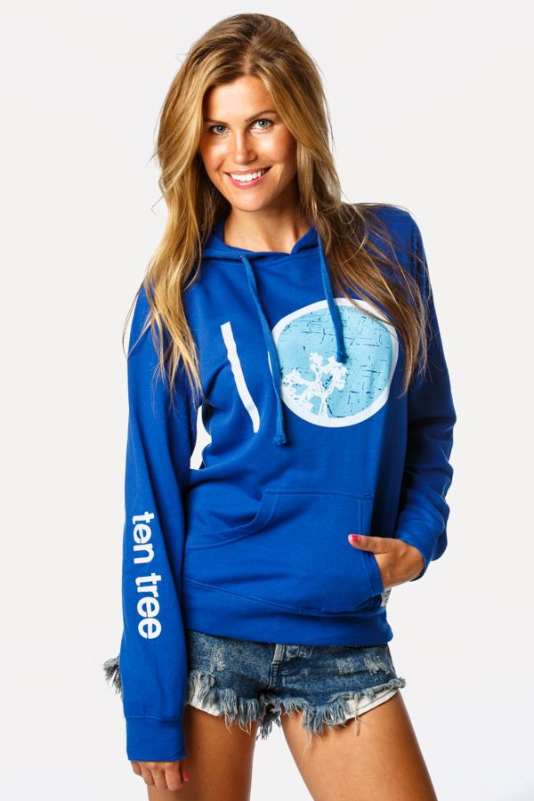 """Looking for something special? We've got it covered – lock, stock, and """"Barrel"""". Pick up your own """"Barrel"""" hoodie at www.tentree.com and plant ten trees while you're at it."""