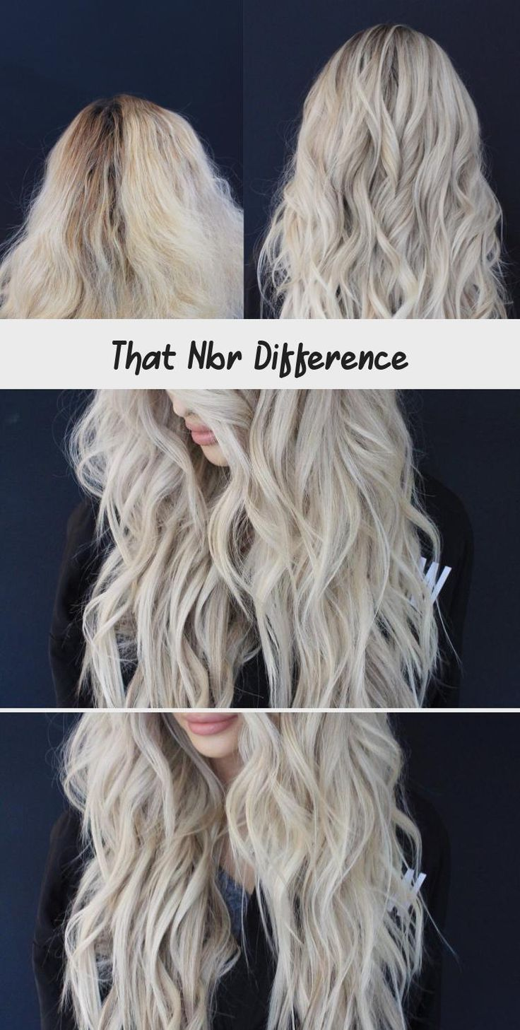 That NBR DIfference the NBR Hair Extensions DKW