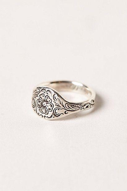 Engraved Posey Ring #anthropologie @Debi D