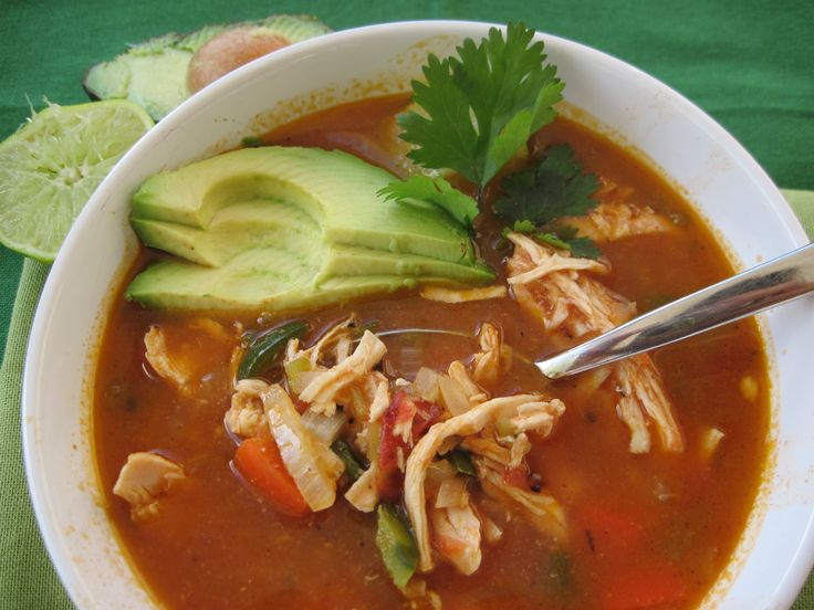 Chicken Tortilla(less) Soup