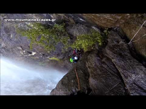 Canyoning in Pelion - Canyon Big Rock first exploration