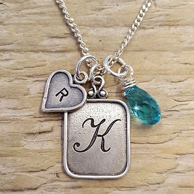 Ketting met initialen