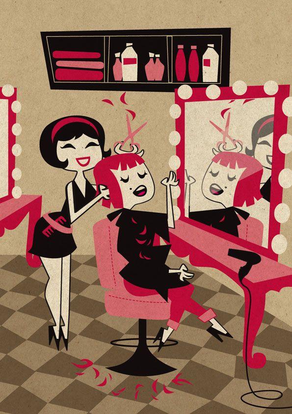 Приколы про парикмахерскую в картинках, днем рождения