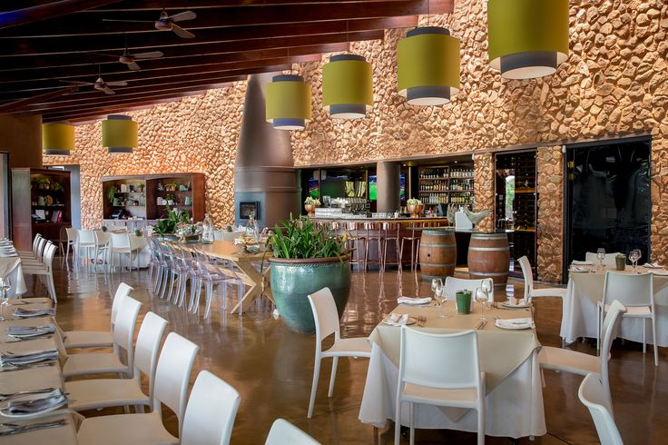 Recently refurbished Kraal Restaurant, the trendiest place to be seen in Johannesburg