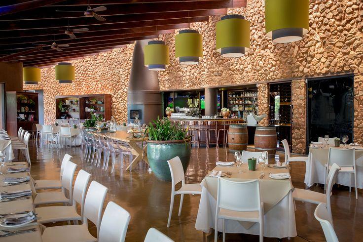 Recently refurbished Kraal Restaurant, the trendiest place to be seen in Johannesburg