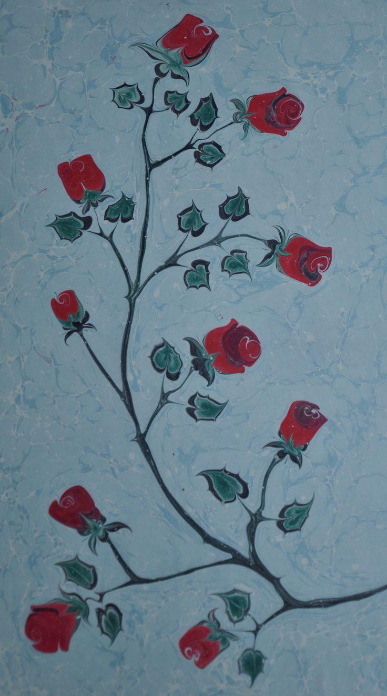 Marbling art Ebru sayitkarabulut