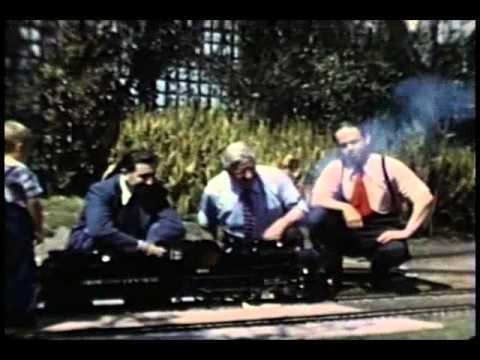 Unseen Home Movie Footage of Walt Disney by Ward Kimball (with music by…