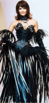 Thierry Mugler - i have no idea where i would start on this DIY or what i would do with it once i was finished, but BY GOD do i wanna.