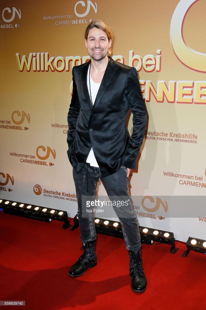 Violinist David Garrett during the tv show 'Willkommen bei Carmen Nebel' at TUI Arena on September 30, 2017 in Hanover, Germany.