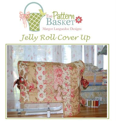 Like so many quilters today, I have an extension table attached to my sewing machine. So I designed a sewing machine cover using a Jelly Roll that can be adapted to fit any machine with or without ...