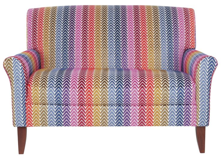 I would love this colourful Bohemian Brights love seat, it would really brighten up my living room! :)