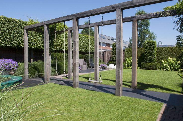 25 beste idee n over tuin schommels op pinterest geheime tuinen schommels en boom schommels - Eigentijds pergola design ...