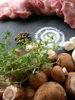 Basil: Pork Tenderloin Chops with Mushroom Cream Sauce ...