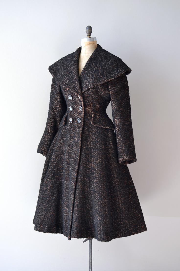 1950's princess Style Coat