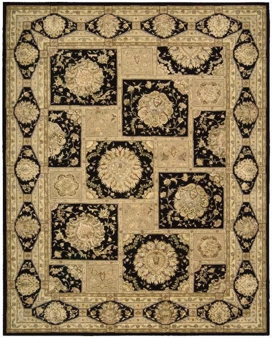 9x12 New Nourison Nourmak Hand Knotted Wool Reversible: 17 Best Back In Black Images On Pinterest