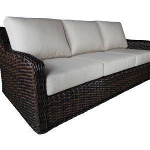 Nevada Wicker Deep Seating Sofa
