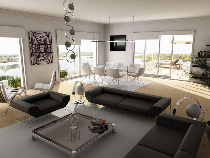 Leather Sofa Bachelor Pad Ideas