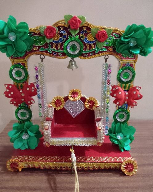 Janmashtami Jhula Decoration Ideas