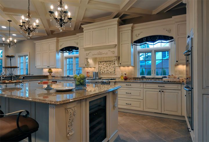 78 Images About Kitchen On Pinterest Large Kitchen Island Designs, Islands And Alder Cabinets photo - 2