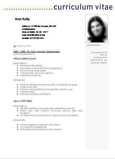 Modelo de Curriculum Vitae Para Completar Basico Modelos De Curriculum Vitae En…