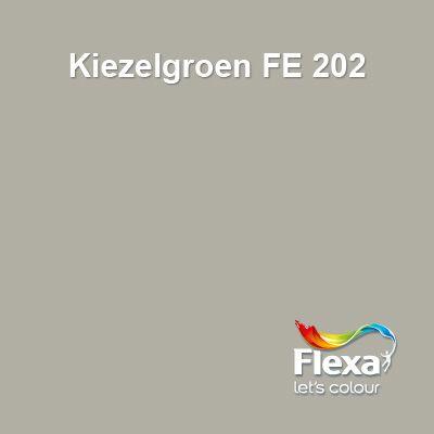 Prachtige nieuwe kleur uit de Flexa Expert lijn, kleur Kiezelgroen FE202!