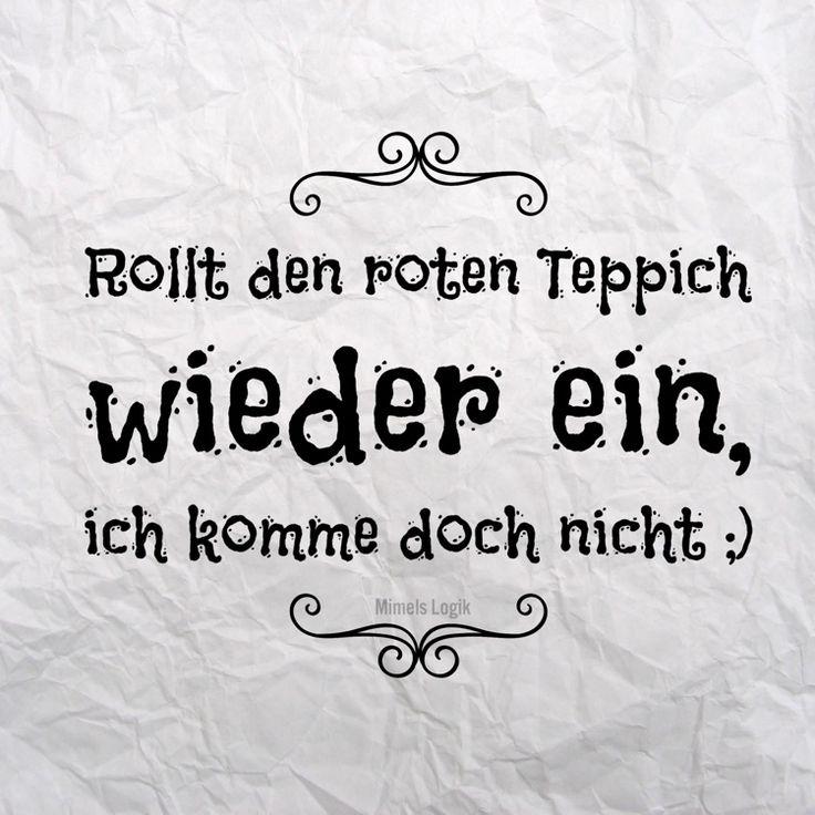 #spruch #roter teppich #teppich