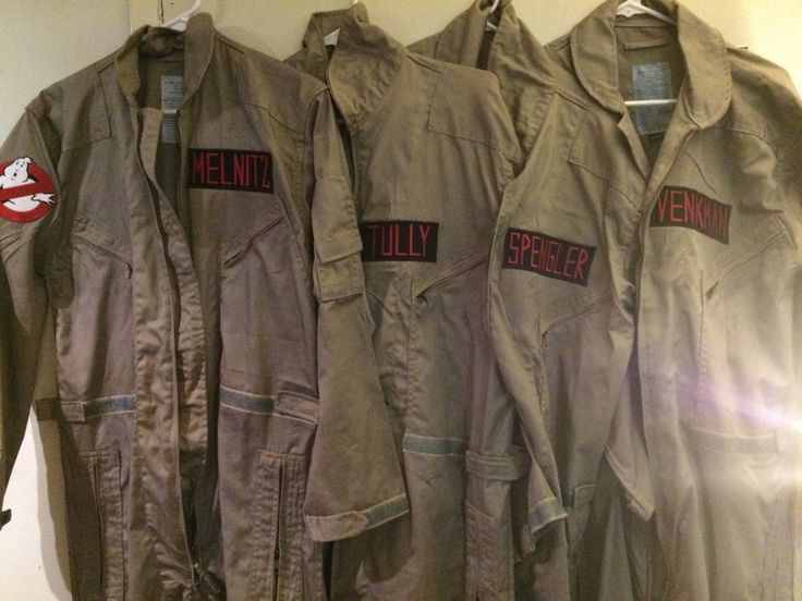 Ghostbusters Costume Cosplay Leg Hose Jumpsuit ONLY