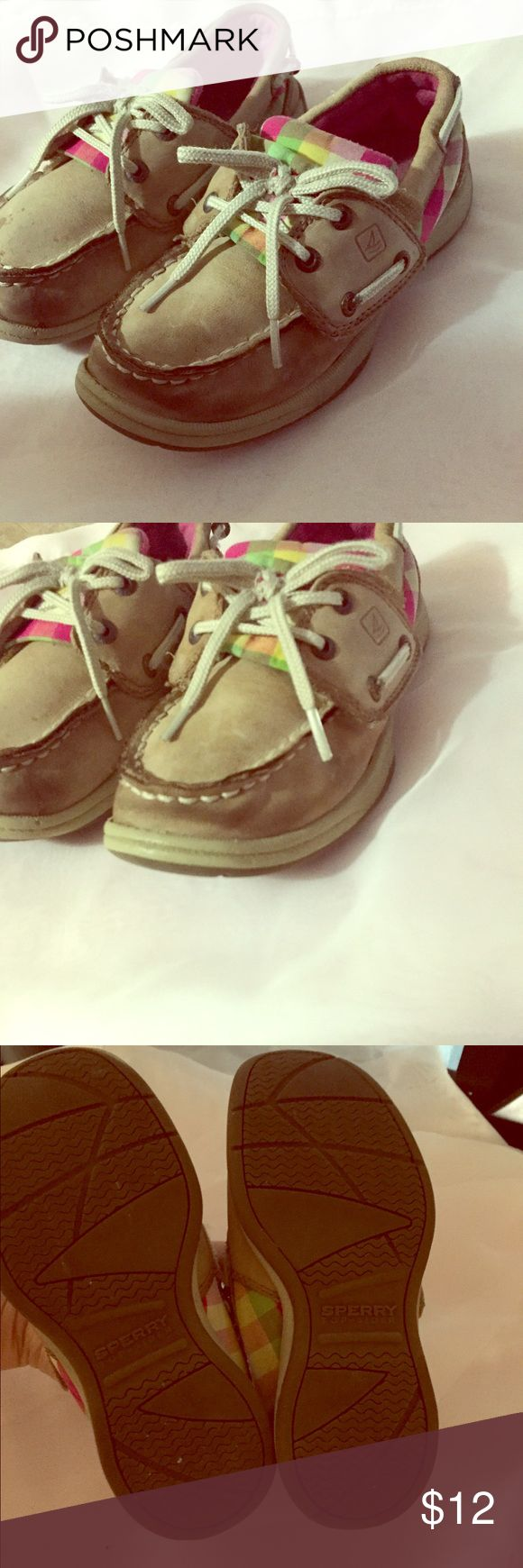 Girls sperry's 🌸 size 11 Girls sperry's size 11, great for the spring and summer🌷 Sperry Shoes Sneakers