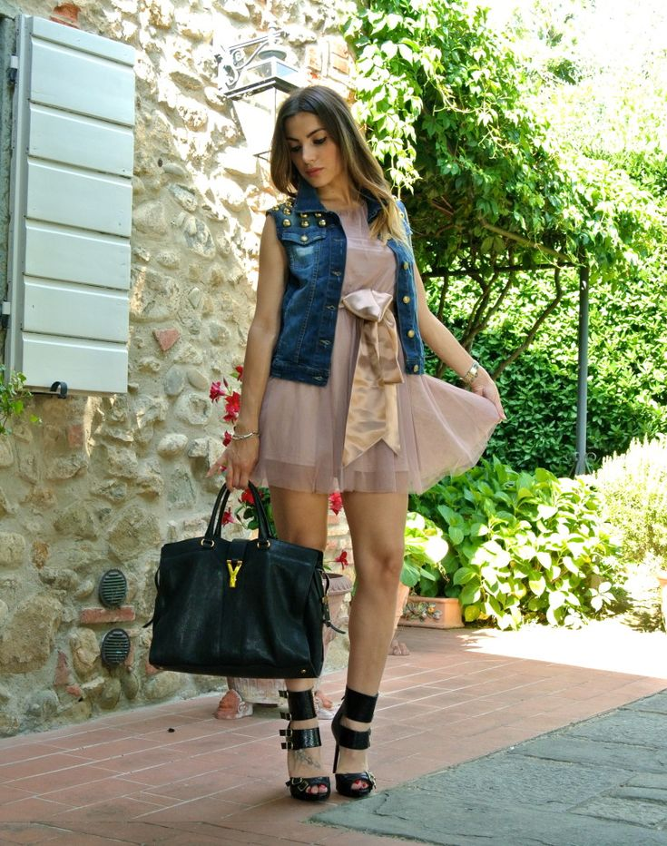 OUTFIT ROMANTIC ROCK-TULLE E BORCHIE - My Urban Bon Ton #outfit #ootd #romantic #tulle