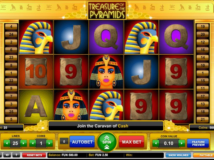 Tragamonedas Treasure of the Pyramids online gratis - http://freeslots77.com/es/tragamonedas-treasure-of-the-pyramids-online-gratis/