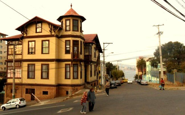 Avenida Gran Bretaña Valparaíso Chile 2011. #valpo #street