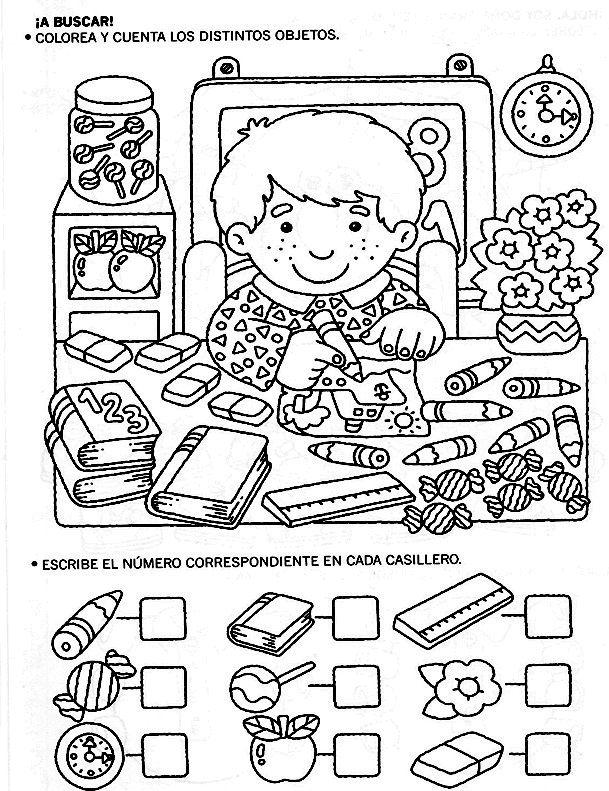 16 best Hojas para trabajar la atención con niños images