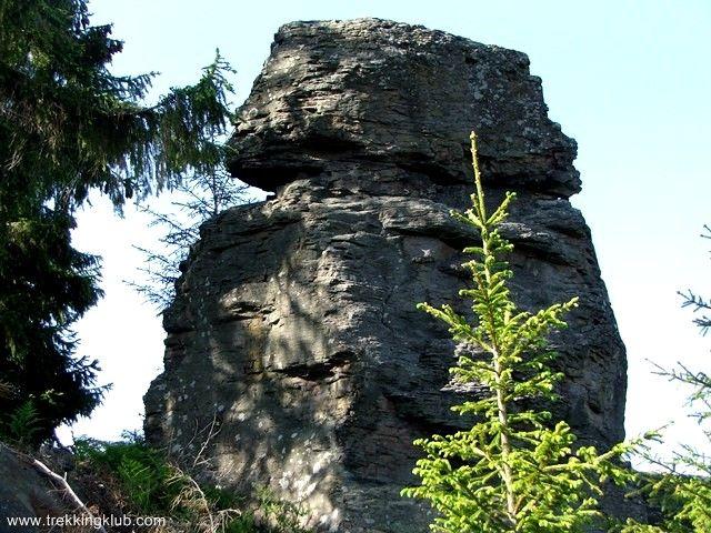 Stack Rock - Harghita mountains, Transylvania
