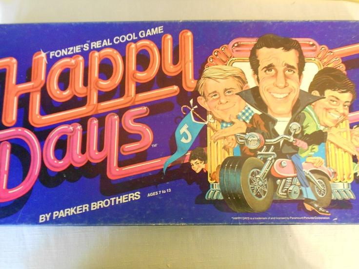 Vintage 1970's Happy Days game.