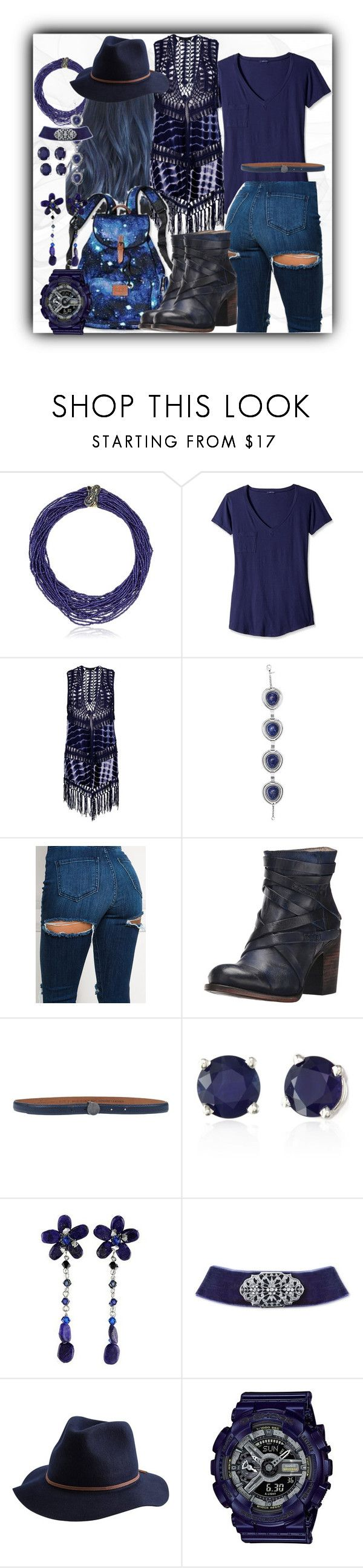"""fav blue boots, meet outfit"" by caroline-buster-brown ❤ liked on Polyvore featuring Betsey Johnson, LAmade, Boohoo, Victoria's Secret, Avon, Steven by Steve Madden, Golden Goose, Effy Jewelry, NOVICA and 2028"