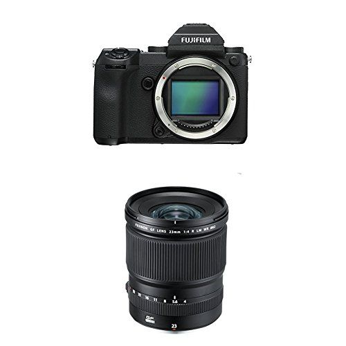 Fujifilm GFX 50S 514MP Mirrorless Medium Format Camera w GF23mmF4 R LM WR Lens * Read more info by clicking the link on the image. #NicePictures