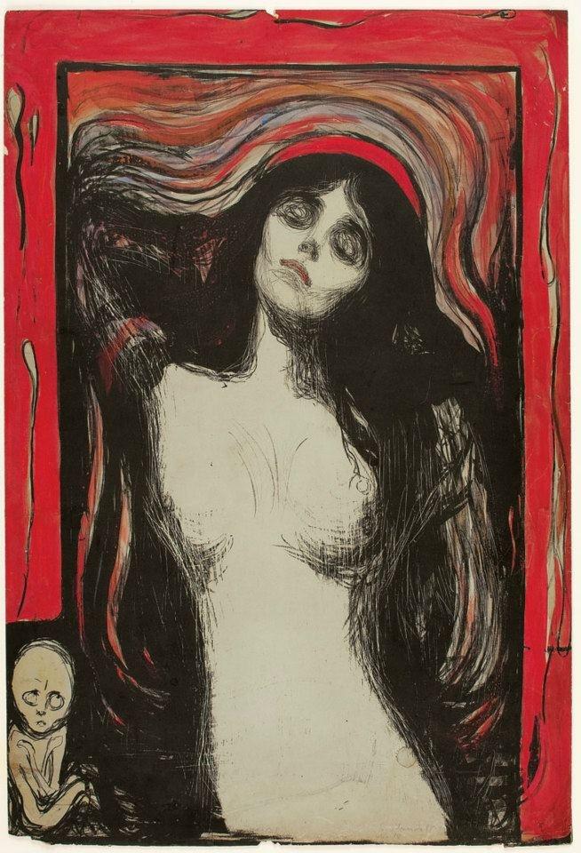 """E. Munchs """"Madonna"""", set på Aros i Aarhus"""