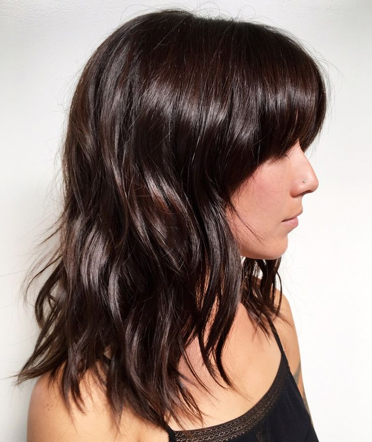 Rich Brown Medium Shag . . . I LOVE THIS HAIR !