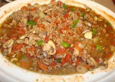 Low Carb Crock Pot Pizza Soup