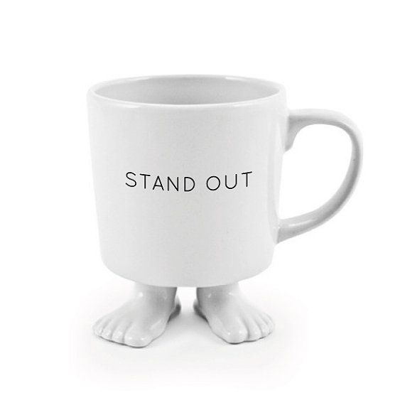 Inspirational Mug Reminds You To Stand Out! $19.99 #etsy