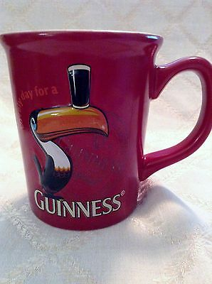 Large GUINNESS TOUCAN Image 3-D COFFEE MUG