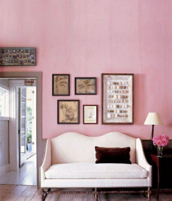 "wohnzimmer grau altrosa:zu ""Altrosa Wandfarbe auf Pinterest"