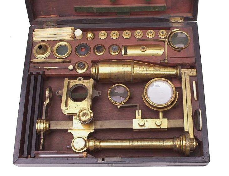 Jones Most Improved Model Microscope Bate London | 1825