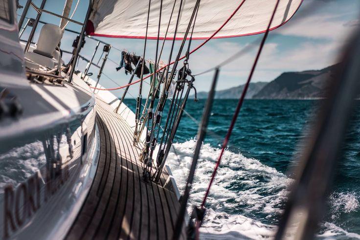 A sailors life. New Zealand coastal sailing.
